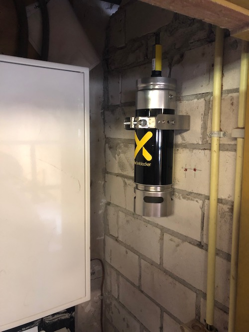 Brandbeveiliging AF-X Fireblocker meterkast
